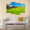 Beautiful landscape of the New Zealand Multi Panel Canvas Wall Art