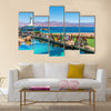 Visitors in Marine park EILAT, ISRAEL Multi Panel Canvas Wall Art