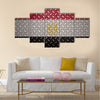 Egypt Flag Seamless steel diamond plate Multi panel canvas wall art