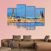 Hamburg, Germany Old town hall, city and river alster wall art