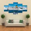 Cruise liner in Antarctica Multi panel canvas wall art