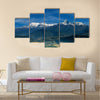 Annapurna massif, view from Sarangkot, Nepal Multi panel canvas wall art