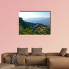 Road in the mountains. Africa, Ethiopia. Multi panel canvas wall art