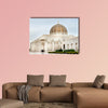 Picture of Grand Sultan Qaboos Mosque in Muscat multi panel canvas wall art