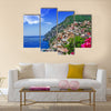 Beautiful Italian coast - Positano, Multi Panel Canvas Wall Art