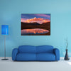 High mountains in Bolivia multi panel canvas wall art