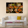 Monarch Butterflies Multi Panel Canvas Wall Art