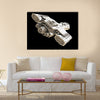 Science fiction spaceship Multi Panel Canvas Wall Art