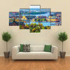 A Great View Of A Summer With A Complete Reality Of Life Multi Panel Canvas Wall Art