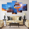 The Museum of the insignia of the Royal House Multi panel canvas wall art