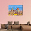 Duomo cathedral in Florence, Italy multi panel canvas wall art