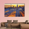 Landscape multi panel canvas wall art