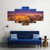 View of Cape Town at dawn, South Africa Multi panel canvas wall art
