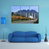 A National Mosque View Multi Panel Canvas Wall Art
