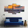 View of Brussels city center Multi panel canvas wall art