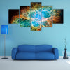 A Remnant Of Supernova In 1054 Multi Panel Canvas Wall Art
