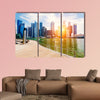 Singapore city skyline at day multi panel canvas wall art