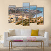 Aerial view of the city of dakar, Senegal Multi panel canvas wall art