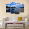Coniston Water, Lake District England UK on a summer day multi panel canvas wall art