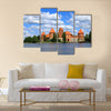 Copy of Island castle in Trakai Multi panel canvas wall art