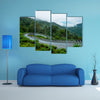 Most beautiful view of Curved road multi panel canvas wall art