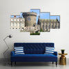 Dublin Castle in Dublin, Ireland Multi Panel Canvas Wall Art