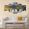 The beautiful Fairy Pools on the Isle of Skye, Scotland Multi Panel Canvas Wall Art