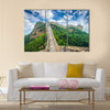 Great Wall of China Unrestored sections at Jinshanling multi panel canvas wall art