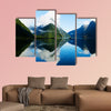 Milford Sound, Fiordland, New Zealand multi panel canvas wall art