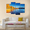 Autumn landscap, lake Wanaka Multi Panel Canvas Wall Art