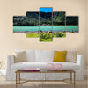 Old Volcano Multi Panel Canvas Wall art