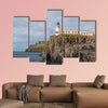 Lighthouse on the cliffs of Neist Point, a famous landmark wall art
