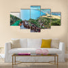 Jeju do beach Island, South Korea multi panel canvas wall art