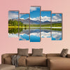 Beautiful lake in Altai mountains Multi panel canvas wall art
