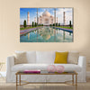 Taj Mahal in sunrise light Multi Panel Canvas Wall Art