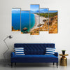 A Cool Antalya Beach Is Giving A Cool Feeling At Travel Backgroung, Turkey, Multi Panel Canvas Wall Art