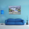 View Of A Monument Multi Panel Canvas Wall Art