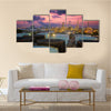 A World's Biggest Oil Refinery In Saudi Arabia Multi Panel Canvas Wall Art