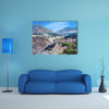 Beautiful View Of Highway In Mountains Multi Panel Canvas Wall Art