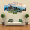 Sveti (Saint) Jovan Kaneo Church On Lake Ohrid, Multi Panel Canvas Wall Art