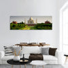 Taj Mahal from the garden side panoramic canvas wall art