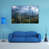 Rice fields on terraced in sunset at Sapa, Lao Cai, multi panel canvas wall art