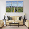 Tiergarten park, Berlin Multi panel canvas wall art