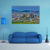 the most beautiful view of Tuscany at dusk, Italy multi panel canvas wall art