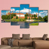 Wawel in Krakow multi panel canvas wall art