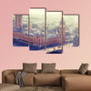 London - Palace of Westminster, UK multi panel canvas wall art