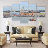 Finland. View of Helsinki from the South Harbour Multi panel canvas wall art