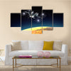 International Space Station Multi Panel Canvas Wall Art