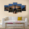 Monte Carlo Casino in Monaco Multi panel canvas wall art
