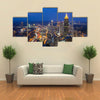 Skyline of downtown Atlanta, Georgia, USA Multi panel canvas wall art